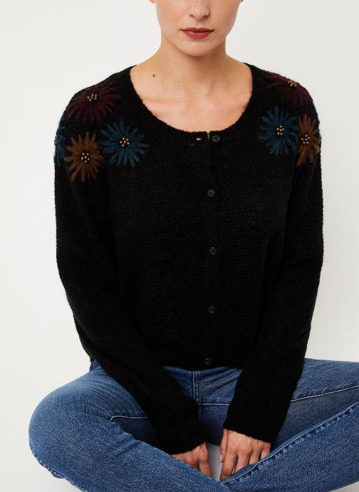 Vêtements Louizon Gilet Elsa Noir vue détail/paire