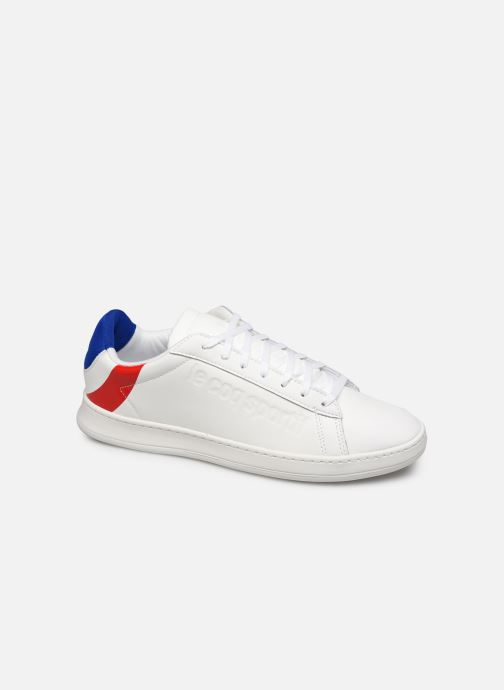 Sneakers Le Coq Sportif Break Cocarde Wit detail