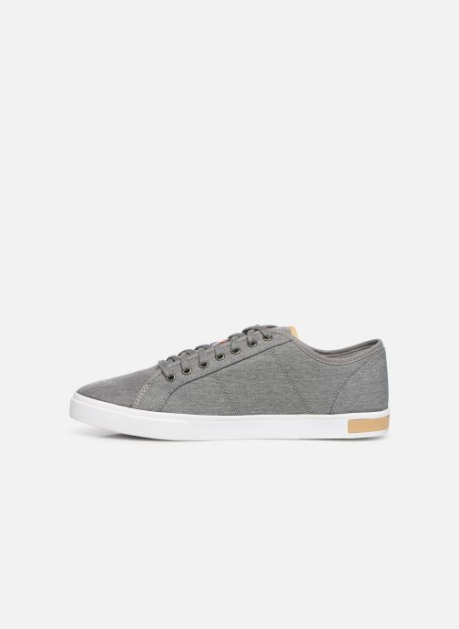 Baskets Le Coq Sportif Verdon Denim Gris vue face