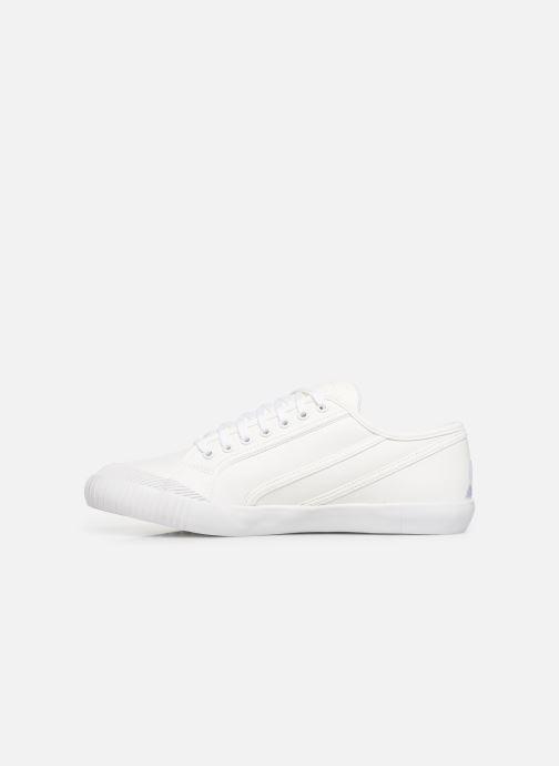 Baskets Le Coq Sportif Nationale Tricolore Blanc vue face