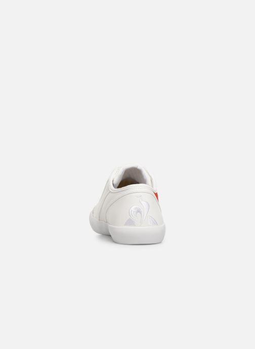 Sneakers Le Coq Sportif Nationale Tricolore Bianco immagine destra