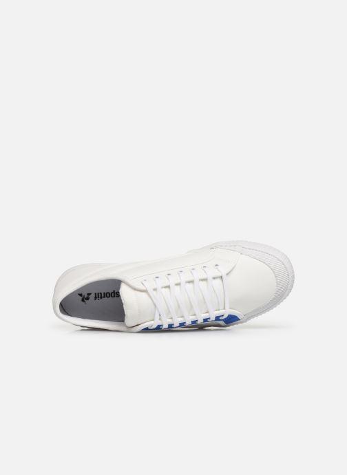 Sneakers Le Coq Sportif Nationale Tricolore Bianco immagine sinistra