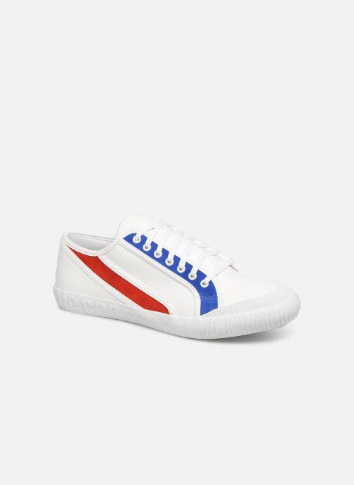 Baskets Le Coq Sportif Nationale Tricolore Blanc vue détail/paire
