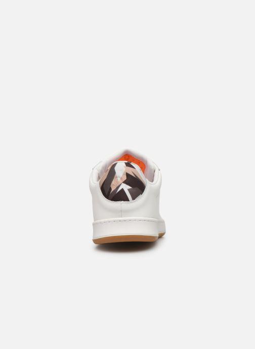 Baskets Le Coq Sportif Break Camo Blanc vue droite