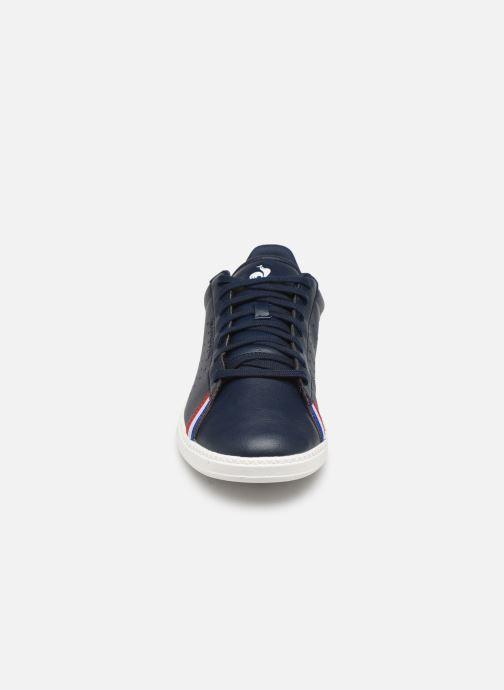 Baskets Le Coq Sportif Courtstar Sport Bleu vue portées chaussures
