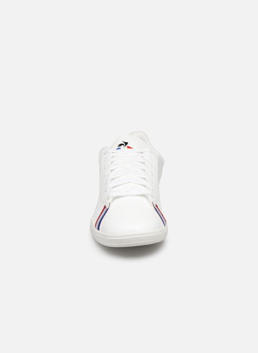 Baskets Le Coq Sportif Courtstar Sport Blanc vue portées chaussures