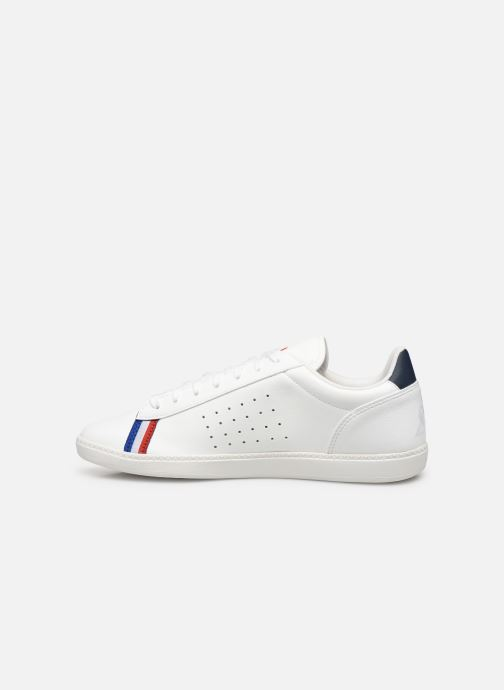 Sneaker Le Coq Sportif Courtstar Sport weiß ansicht von vorne