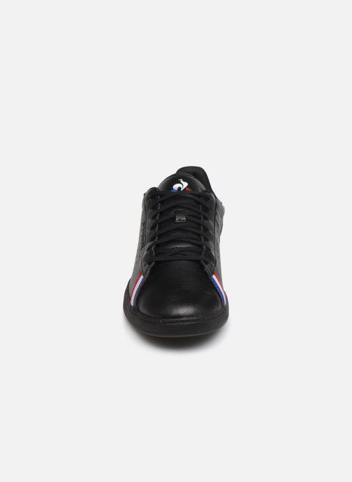 Baskets Le Coq Sportif Courtstar Sport Noir vue portées chaussures