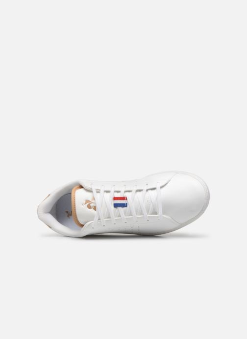 Sneakers Le Coq Sportif Courtstar Winter Bianco immagine sinistra