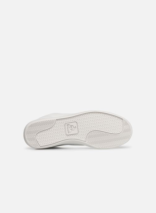 Trainers Le Coq Sportif Courtstar Denim White view from above