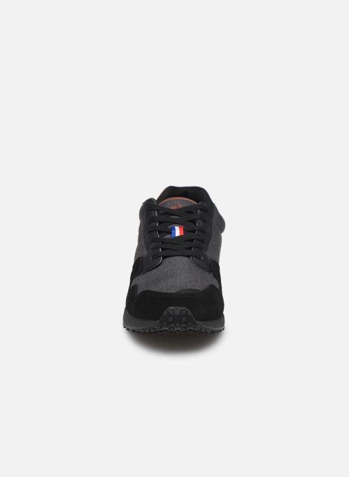 Baskets Le Coq Sportif Jazy Winter Denim Noir vue portées chaussures