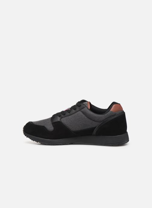 Baskets Le Coq Sportif Jazy Winter Denim Noir vue face