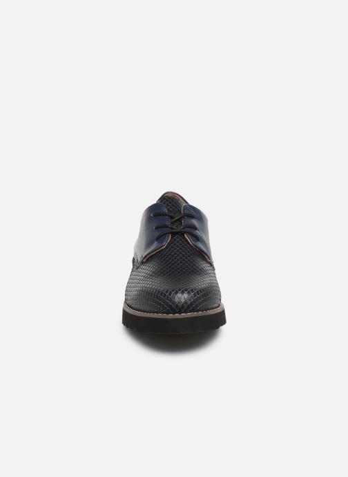 Chaussures à lacets Damart Antonelle Bleu vue portées chaussures
