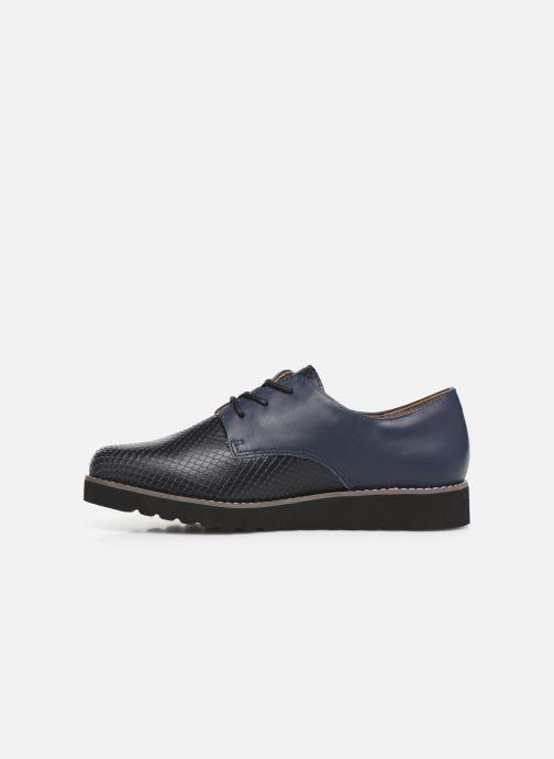 Zapatos con cordones Damart Antonelle Azul vista de frente