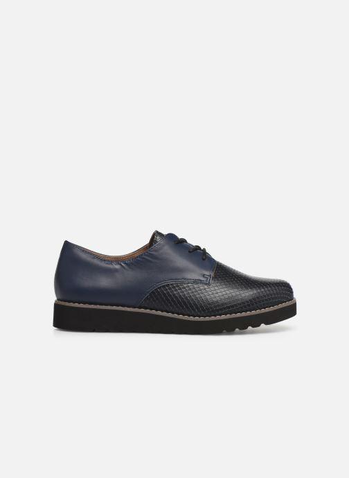 Zapatos con cordones Damart Antonelle Azul vistra trasera