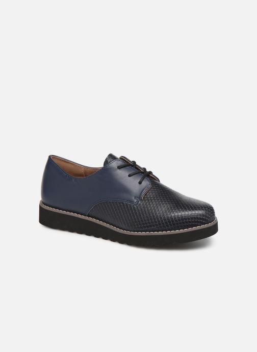Chaussures à lacets Damart Antonelle Bleu vue détail/paire