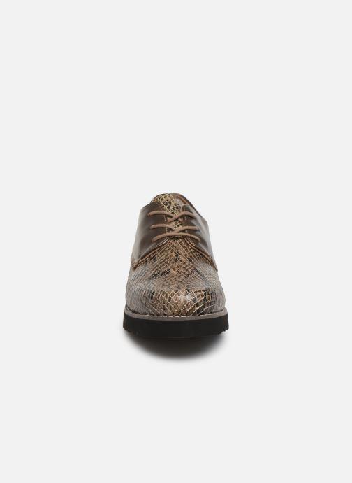 Chaussures à lacets Damart Antonelle Vert vue portées chaussures