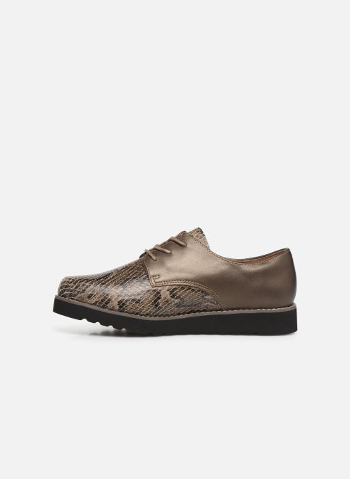 Chaussures à lacets Damart Antonelle Vert vue face