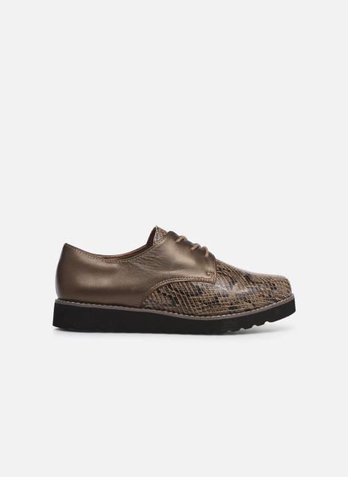 Chaussures à lacets Damart Antonelle Vert vue derrière