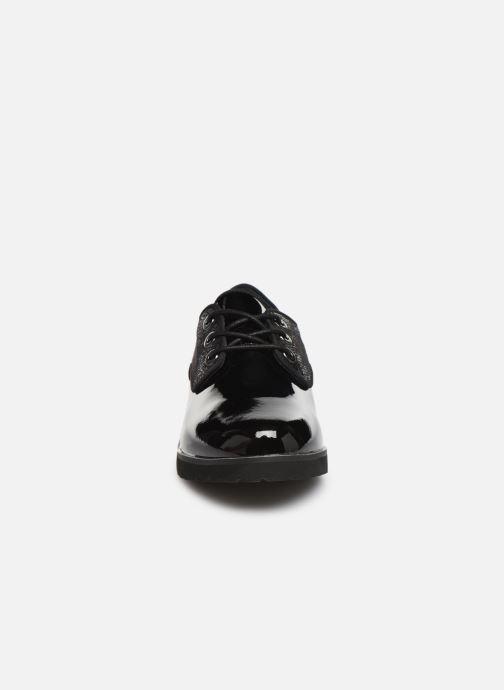 Chaussures à lacets Damart Dominique Noir vue portées chaussures