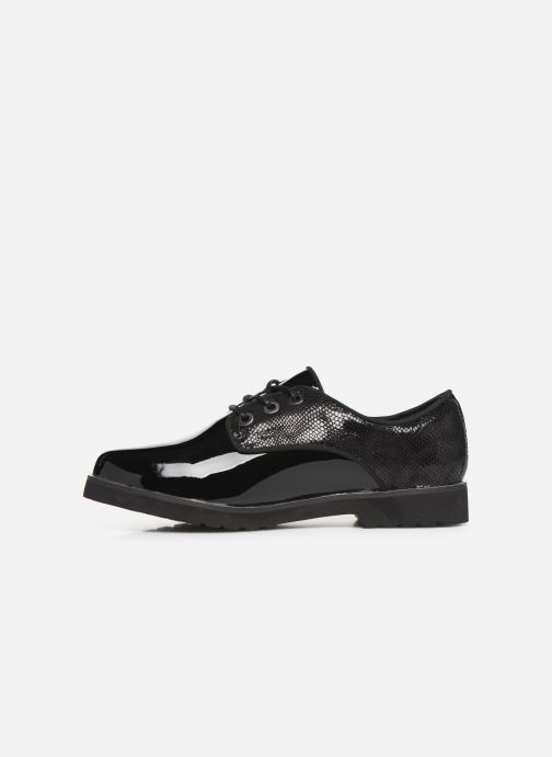 Chaussures à lacets Damart Dominique Noir vue face