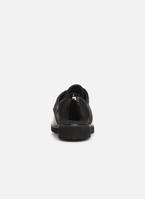 Chaussures à lacets Damart Dominique Noir vue droite