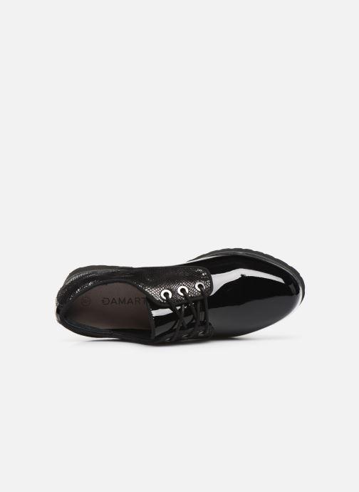 Chaussures à lacets Damart Dominique Noir vue gauche