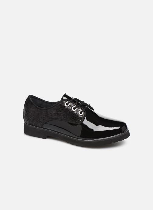 Chaussures à lacets Damart Dominique Noir vue détail/paire
