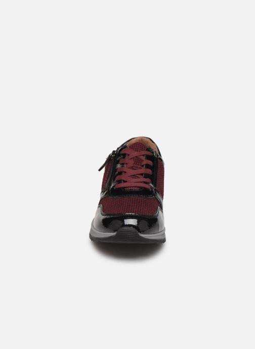 Baskets Damart Sandra Bordeaux vue portées chaussures