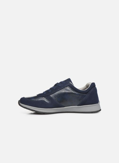 Trainers Damart Sandra Blue front view
