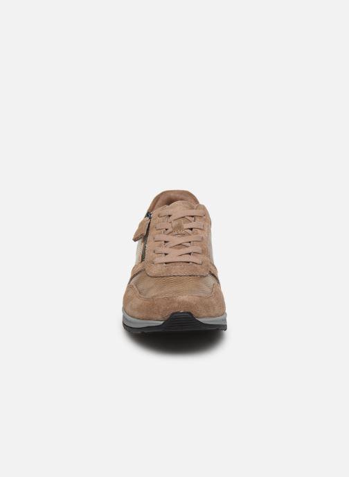 Baskets Damart Sandra Marron vue portées chaussures