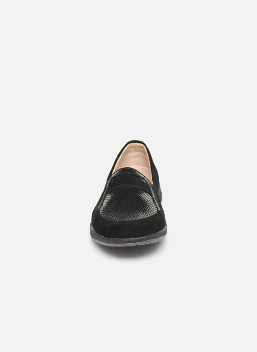Loafers Damart Josephine Black model view