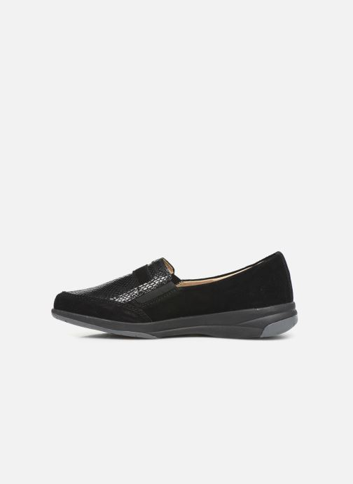 Loafers Damart Josephine Black front view