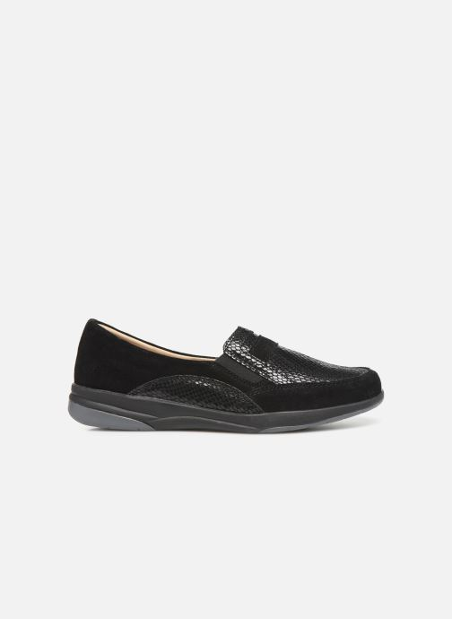 Loafers Damart Josephine Black back view