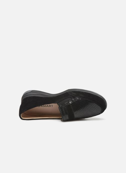 Loafers Damart Josephine Black view from the left
