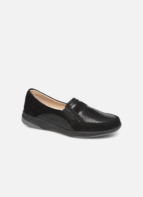 Loafers Damart Josephine Black detailed view/ Pair view