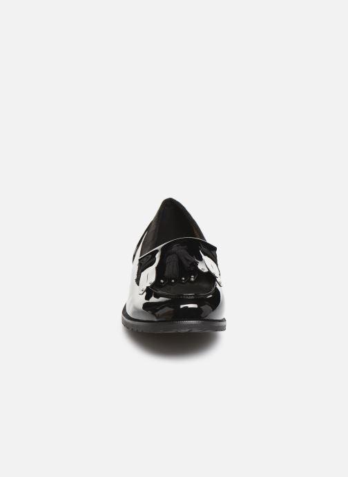 Slipper Damart Clelie schwarz schuhe getragen