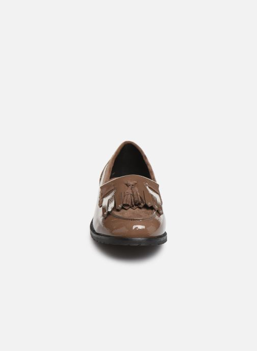 Mocassins Damart Clelie Beige vue portées chaussures