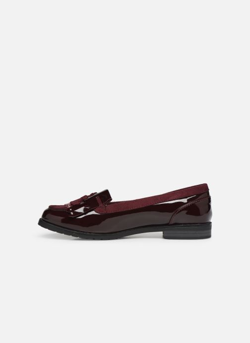 Mocasines Damart Clelie Vino vista de frente