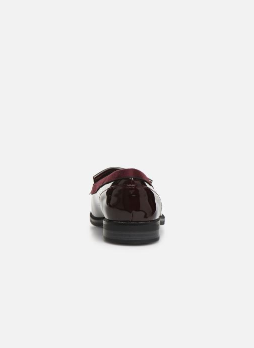Loafers Damart Clelie Burgundy view from the right