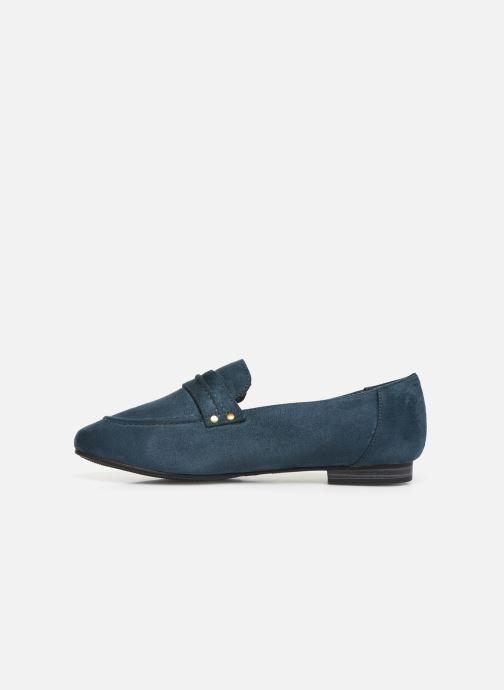 Loafers Damart Solene Blue front view