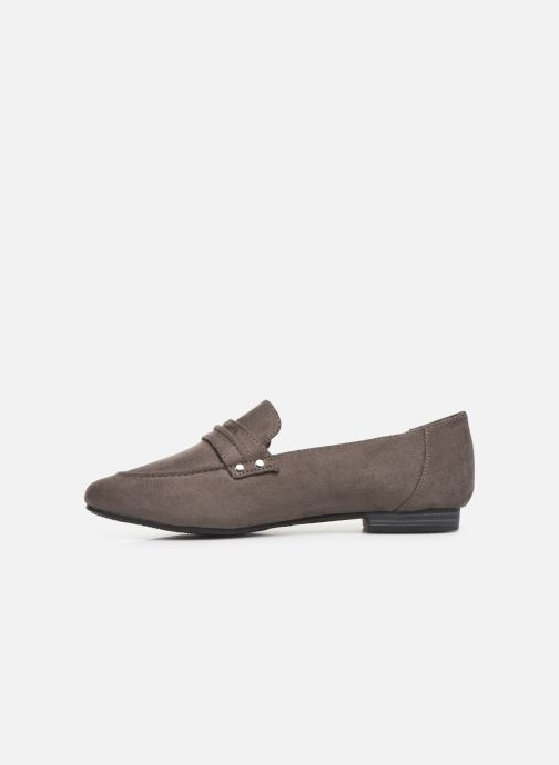Loafers Damart Solene Grey front view