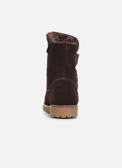 Bottines et boots Damart Laura Marron vue droite