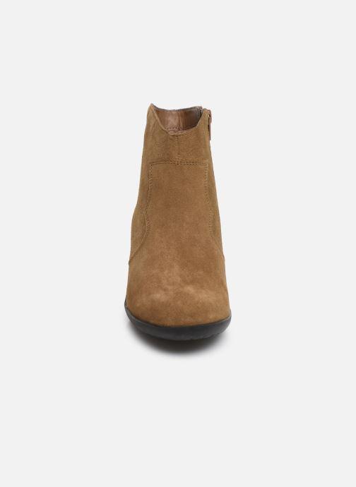 Bottines et boots Damart Maria Marron vue portées chaussures