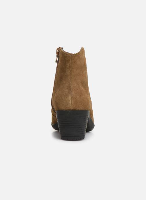 Bottines et boots Damart Maria Marron vue droite