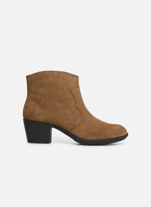 Bottines et boots Damart Maria Marron vue derrière