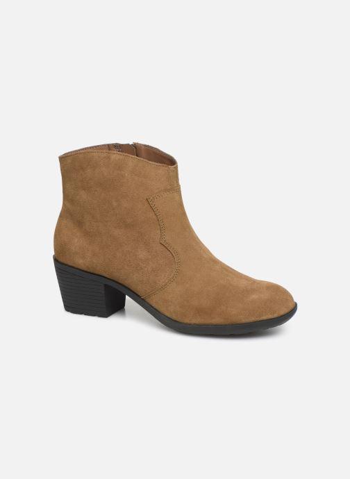Bottines et boots Damart Maria Marron vue détail/paire