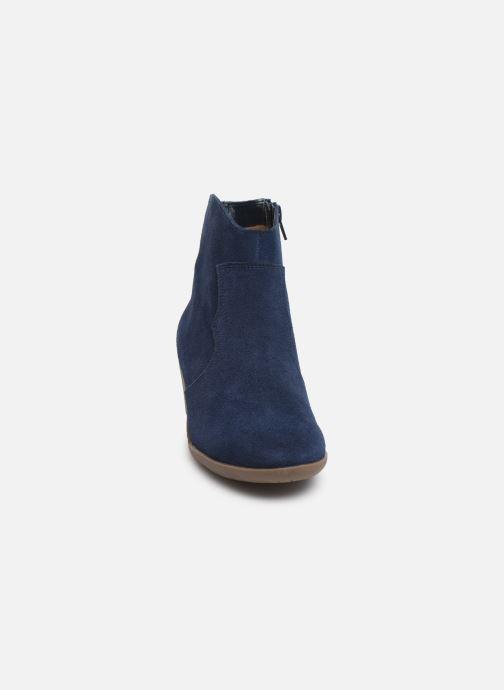 Bottines et boots Damart Maria Bleu vue portées chaussures