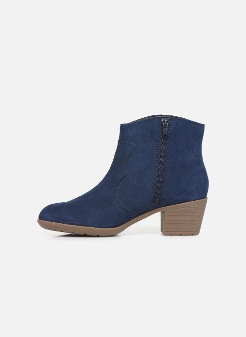 Bottines et boots Damart Maria Bleu vue face