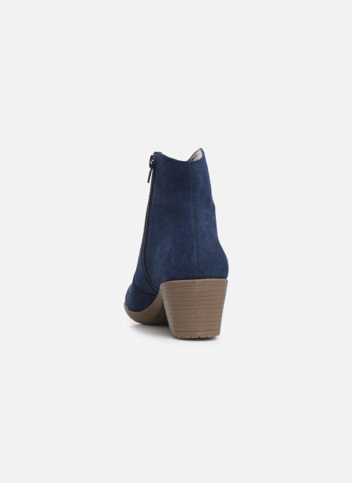 Bottines et boots Damart Maria Bleu vue droite